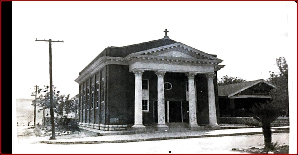 Holy Family Catholic Church, El Paso, Texas 1918